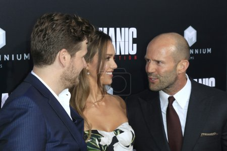 Dennis Gansel, Jessica Alba, Jason Statham