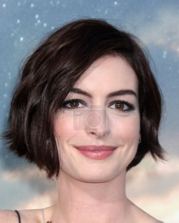 """Photo for LOS ANGELES - OCT 26:  Anne Hathaway at the """"Interstellar"""" Premiere at the TCL Chinese Theater on October 26, 2014 in Los Angeles, CA - Royalty Free Image"""