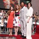 LOS ANGELES - NOV 17:  Mackenzie Foy, Jessica Chas...
