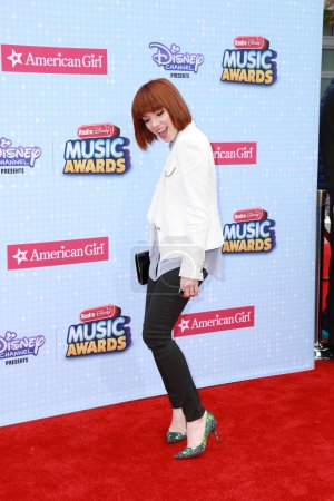 Photo pour LOS ANGELES - FEB 25:  Carly Rae Jepsen at the Radio Disney Music Awards 2015 at the Nokia Theater on April 25, 2015 in Los Angeles, CA - image libre de droit