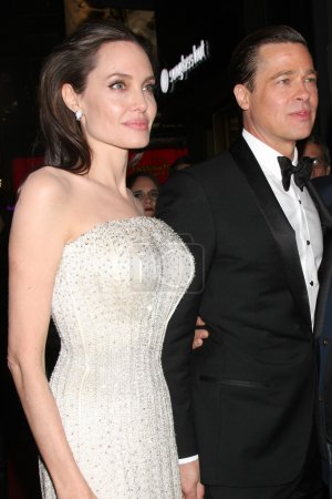 Angelina Jolie Pitt Brad Pitt