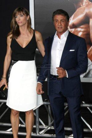 Jennifer Flavin Sylvester Stallone