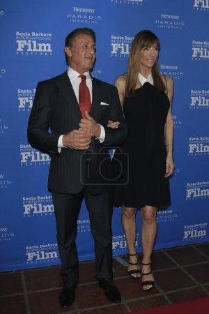 Sylvester Stallone Jennifer Flavin