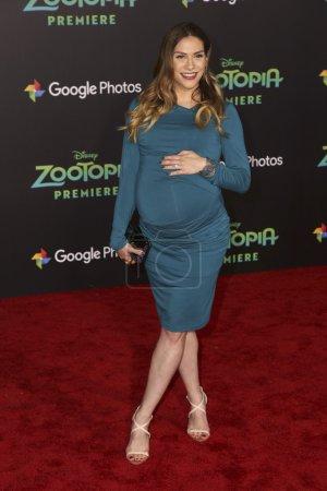 actress Allison Holker