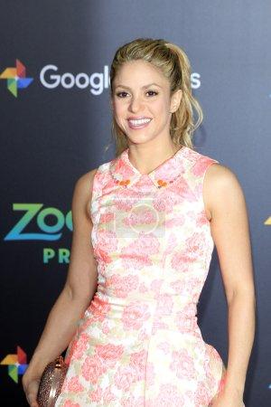 singer songwriter Shakira
