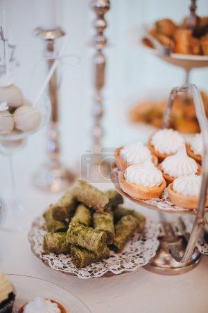 Hochzeit. Candy Bar.