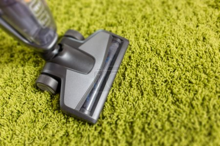 Cordless vacuum cleaner close up photo