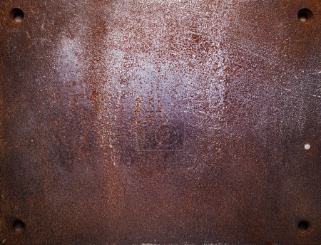 Aged metal texture, iron background.