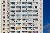 Apartment building view
