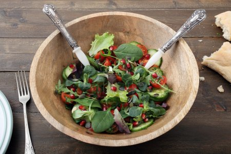 healthy food mixed salad