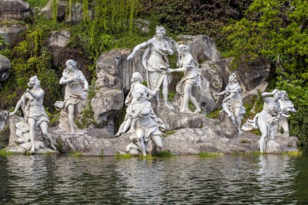 Nymphs in Royal Palace in Caserta