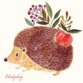 adorable cute hedgehog