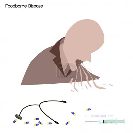 Foodborne Disease or Food Poisoning with Medical Treatment