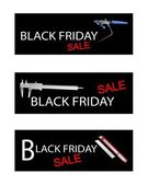 Craft Tools on Black Friday Sale Banners