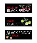 Fresh Apple on Black Friday Sale Banner