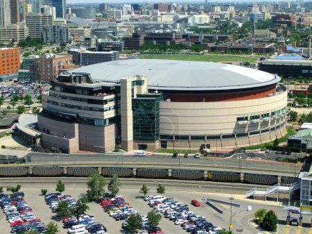 Pepsi Center Arena in Denver