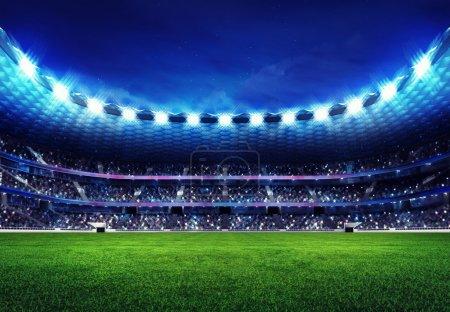 Photo pour Sport match fond illustration numérique ma propre conception - image libre de droit