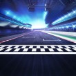 Racing sport digital background illustration...