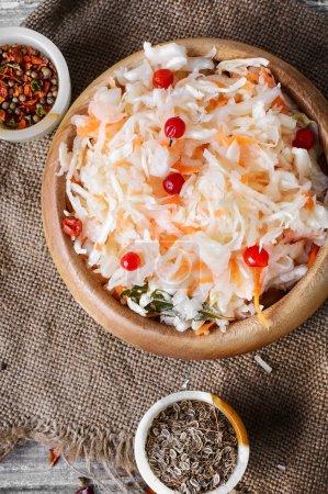 Sauerkraut with spices