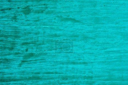 Photo pour Photo cyan surface en bois rayé - image libre de droit