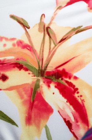 Foto de Textura de fondo de tela cortada de la materia variopinto - Imagen libre de derechos