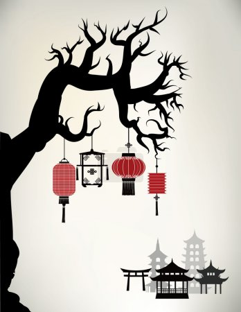 Illustration for Chinese new year - Royalty Free Image