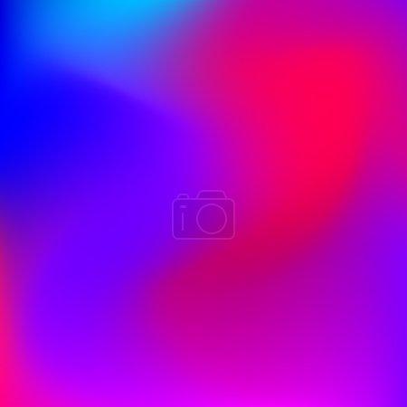 Illustration pour Fond dégradé abstrait rose, violet, violet, magenta et flou bleu pour le web, les présentations et les impressions. Illustration vectorielle . - image libre de droit