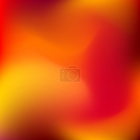 Illustration for Abstract orange blur color gradient background for web, presentations and prints. Vector illustration. - Royalty Free Image