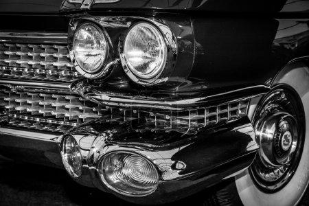 Fragment of fullsize luxury car