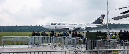 Взлет Каморок Боинг 747