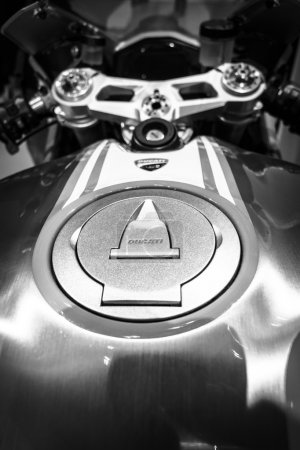 The fuel tank of a