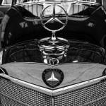Постер, плакат: Fragment of a limousine Mercedes Benz 300 S Cabriolet W 188 I 1953