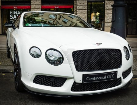 Luxury car Bentley Continental GTC