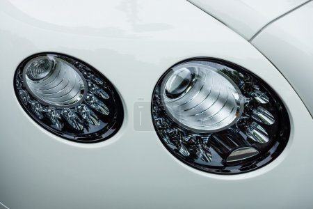 Headlamp of a luxury car