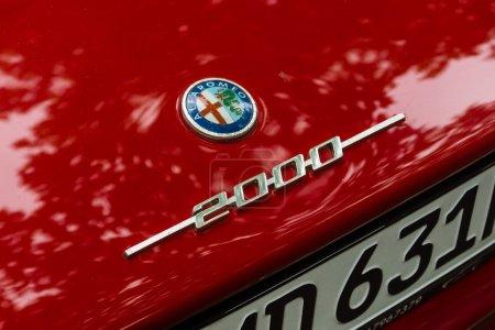 Логотип на багажнике