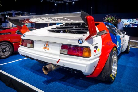 Sports car BMW M1 Procar (racing version of the BMW M1), 1980