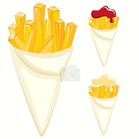 Illustration pour Illustration vectorielle alimentaire - image libre de droit
