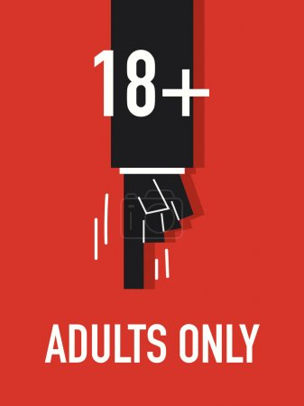 Words ADULTS ONLY