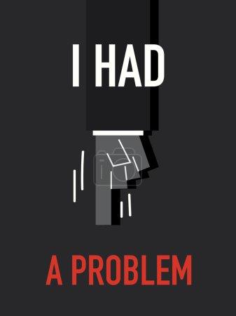 Words I HAD A PROBLEM