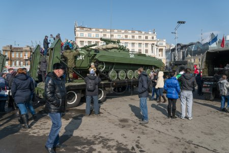 Modern russian armored vehicles.