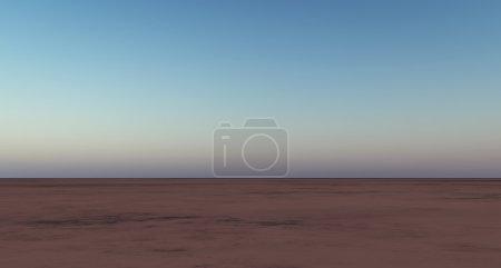 Abstract desert landscape.