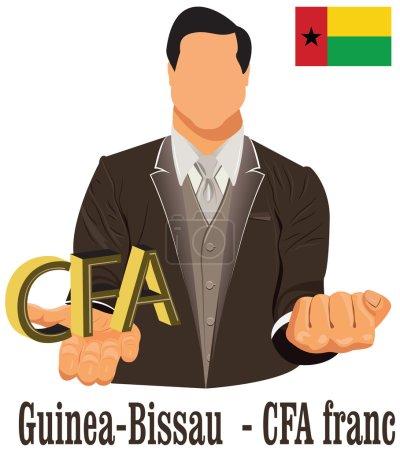 Guinea Bissau national currency West African CFA franc symbol re
