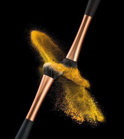 Makeup Brush Powder Explosion