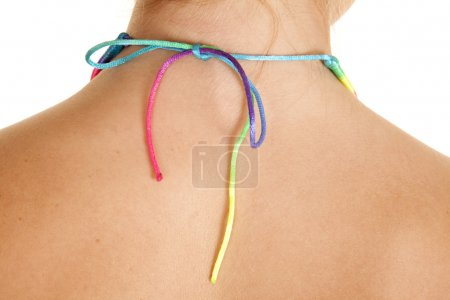 back necklace rainbow