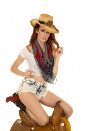 beautiful young cowgirl