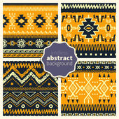 Set of abstract patterns 006
