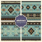 Set of abstract patterns 008