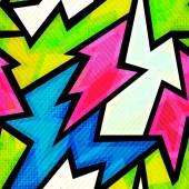 Seamless pattern di graffiti
