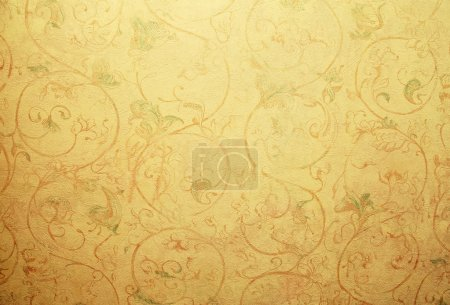 vintage shabby chic wallpaper with pastel vignette floral victor