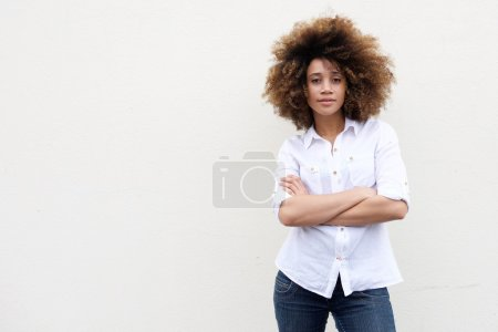 Cool young african american woman